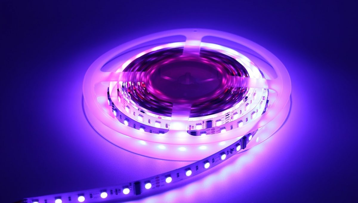 Led strips inbouwen
